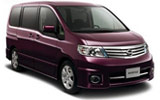 Car rental Nissan Serena