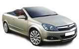 Car rental Opel Astra Convertible