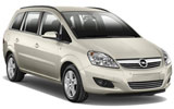 Car rental Opel Zafira 5+2 Seater