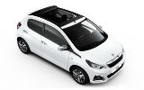 Car rental Peugeot 108 Convertible
