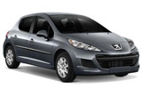 Car rental Peugeot 207 Diesel