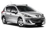 Car rental Peugeot 207 Estate