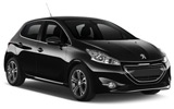 Car rental Peugeot 208 Diesel