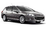 Car rental Peugeot 407 Estate