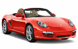 Car rental Porsche Boxster Convertible