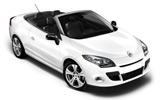 Car rental Renault Megane Convertible