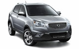 Car rental Ssangyong Korando