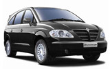 Car rental Ssangyong Rodius