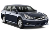 Car rental Subaru Legacy