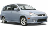 Car rental Suzuki Aerio