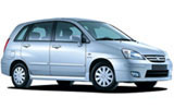 Car rental Suzuki Liana