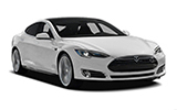 Car rental Tesla Model S Performance