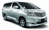 Car rental Toyota Alphard