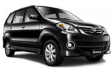 Car rental Toyota Avanza