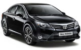 Car rental Toyota Avensis