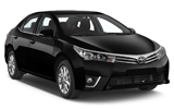 Car rental Toyota Corolla