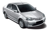 Car rental Toyota Etios