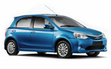Car rental Toyota Etios XS