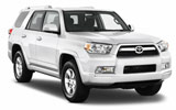Car rental Toyota Four Runner