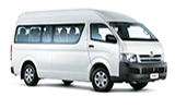 Car rental Toyota Hiace 11 Seater