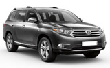 Car rental Toyota Highlander