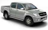 Car rental Toyota Hilux Diesel