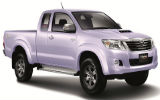 Car rental Toyota Hilux Vigo Smart Cab