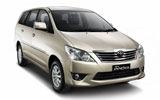 Car rental Toyota Innova