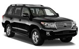 Car rental Toyota Land Cruiser