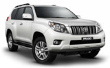 Car rental Toyota Prado