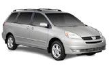 Car rental Toyota Sienna