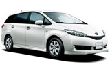 Car rental Toyota Wish MPV