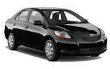 Car rental Toyota Yaris Sedan