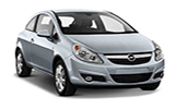 Car rental Vauxhall Corsa