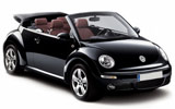 Car rental Volkswagen Beetle Convertible