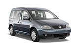 Car rental Volkswagen Caddy