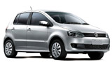 Car rental Volkswagen Fox