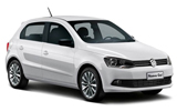 Car rental Volkswagen Gol