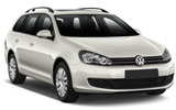 Car rental Volkswagen Golf Estate