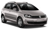 Car rental Volkswagen Golf Plus