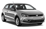 Car rental Volkswagen Polo