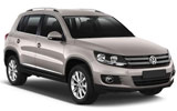 Car rental Volkswagen Tiguan